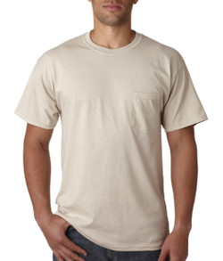Adult Short Sleeve Pocket T-Shirt