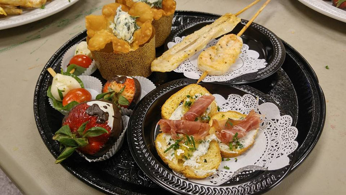 upscale appetizers