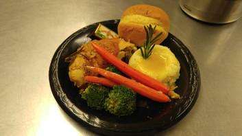 lemon herb chicken and vegetables
