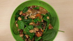 Northern, Pinto Spinach Soup