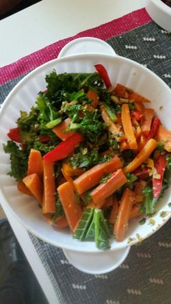 Kale-n-veggies