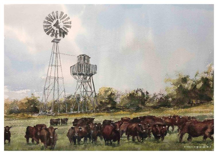 Commission Art - Houston