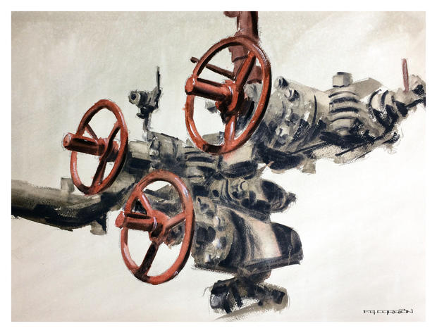 OIl and Gas Art