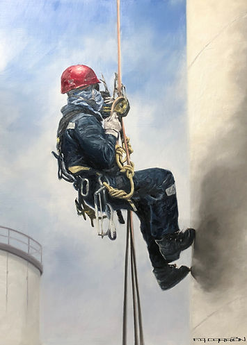 Industrial worker -  Art Commissions