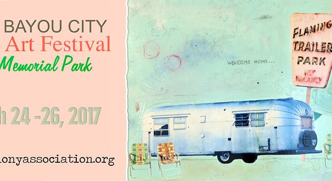Bayou City Art Festival Houston 03/24-26