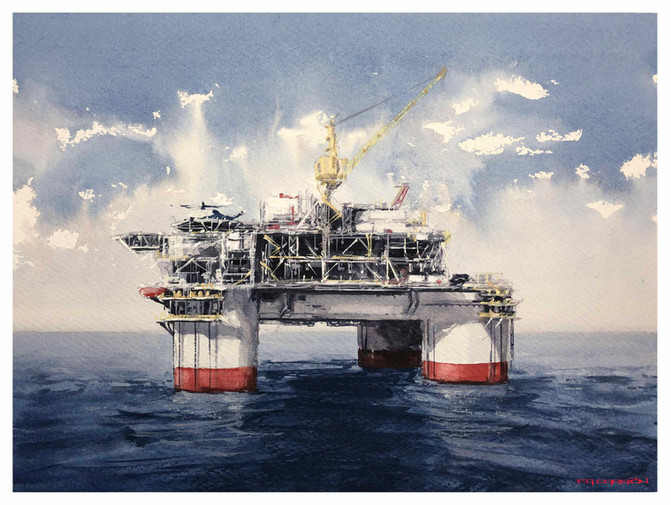 Painting Commissions for Chevron - Covington, Louisiana