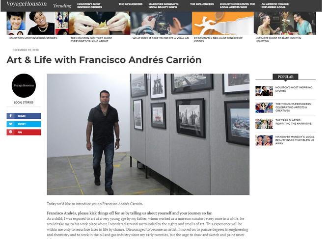 Art & Life with Francisco Andrés Carrión