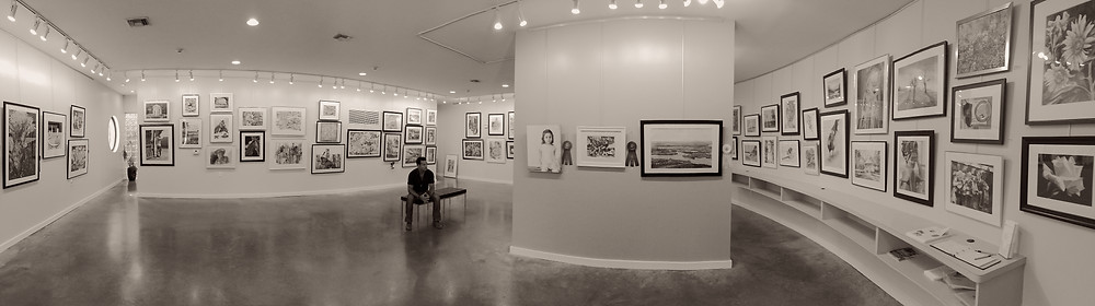 Pano of the WASH gallery