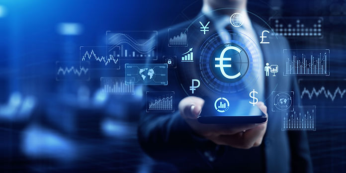 Euro sign currency exchange forex tradin