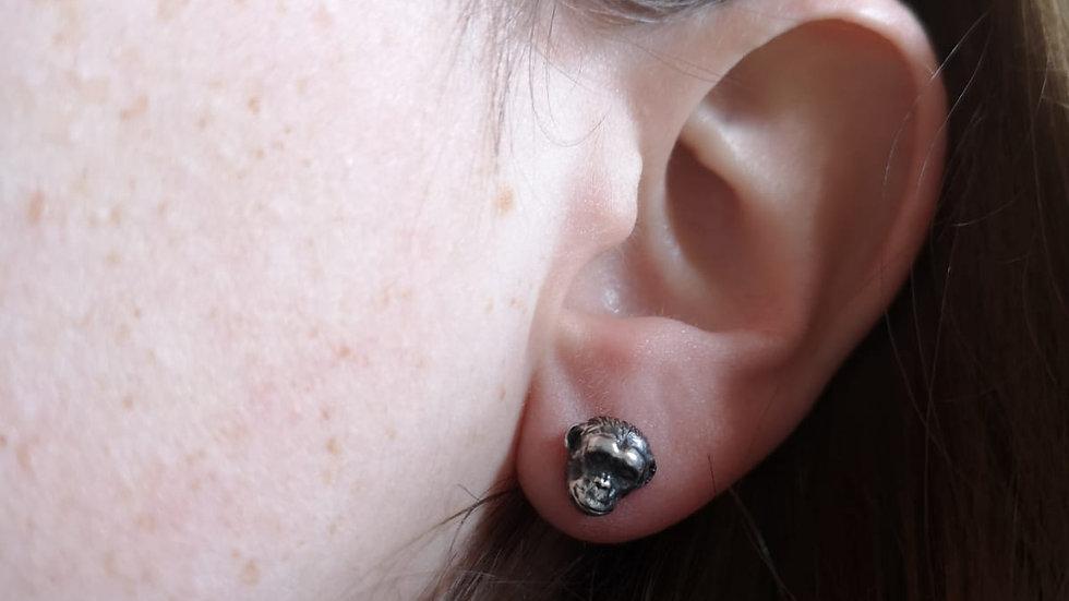 Solo Chimp Earring Stud