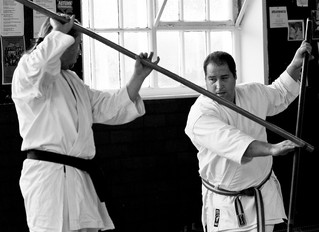 Bo Yari (weapons) course - 19th January 2014