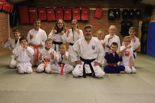 Junior squad with Mehmet Akgyit