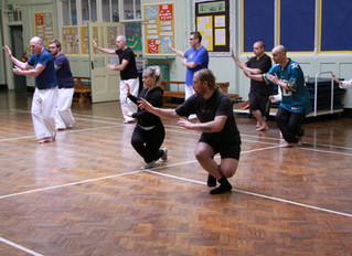Tai Chi , Gary Shaw himself a long standing practitioner of Martial Arts.