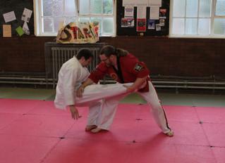 Ju-Jitsu at the Sheffield Shotokan Karate Club