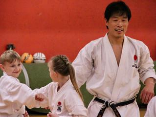 Sensei Kenjiro Hori 5th Dan JKA course