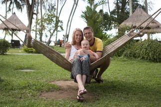 family portrait oversea netherlands vaca