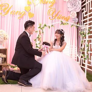 Yang & Cyndi Wedding Reception