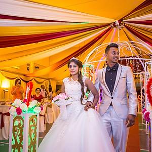 Thiiban & Kaslah Wedding Reception