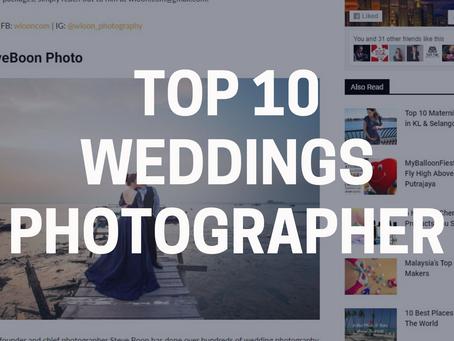 Top 10 Weddings Photographer in Penang