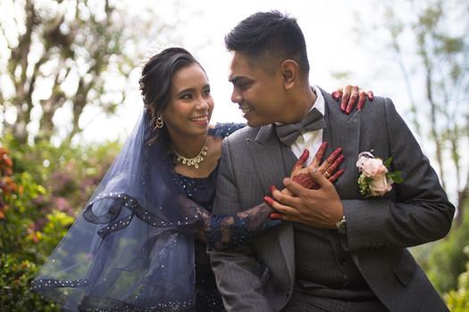 Malay post wedding portrait