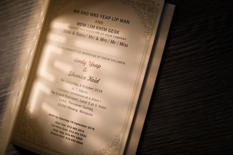Invitation Card - Wedding Day Photography