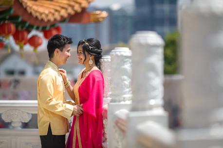 Chinese Indian Wedding