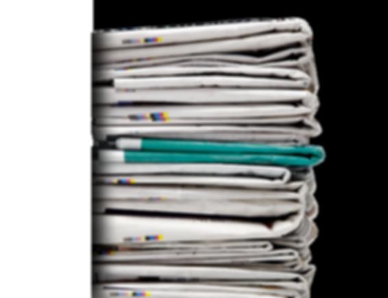 A pile of Newspaers