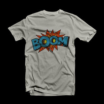 Cool Comics Print T-Shirt