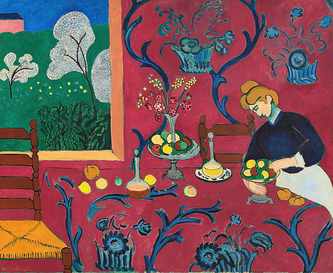 the-red-room-harmony-in-red-1908-henri-m