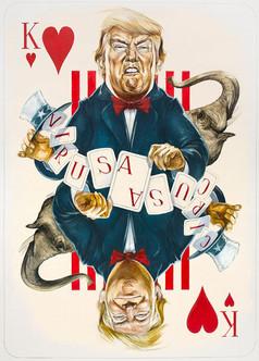 King Of Hearts - Trump