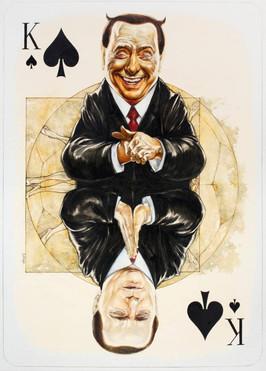King Of Spades - Berlusconi