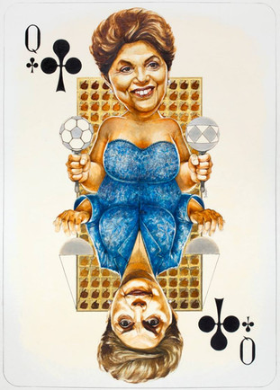 Queen Of Clubs - Rousseff