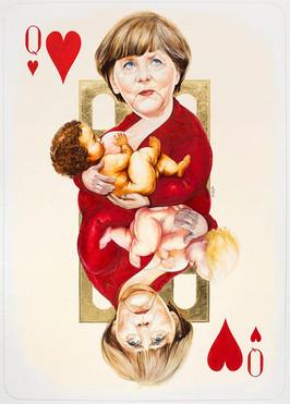 Queen Of Hearts - Merkel