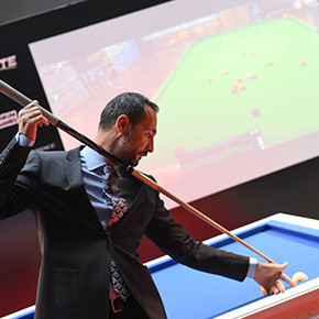 Pool Elite & World Champion Mr. Magic (Semih Sayginer)