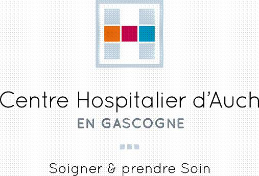 logo centre hospitalier d'Auch