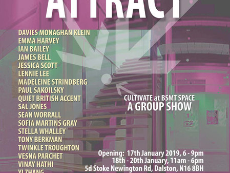 Attract- Cultivate at BSMT space