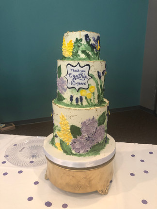 Wildflower cake design by Hello Sweetie Confectionary