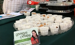 Govinda's Catering samples