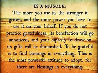 ExercisingMyGratitude Muscle
