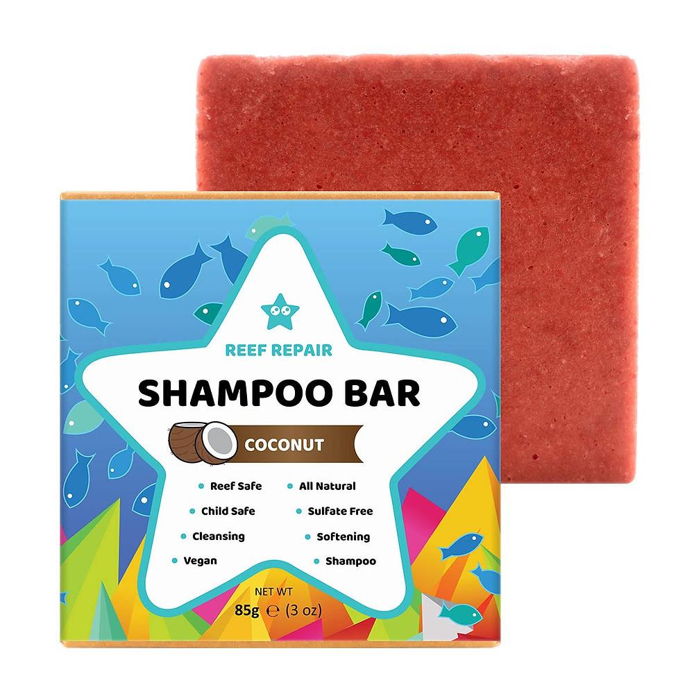 Reef Repair Shampoo Bar and package