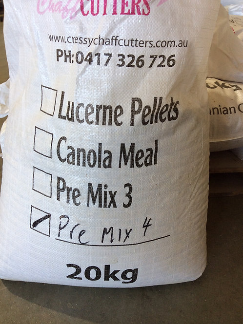 Pre Mix 4 20kg Bag (MIDLANDS AREA DELIVERY)
