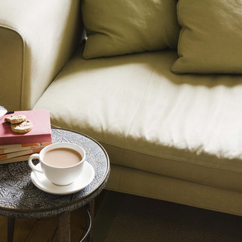 Coffee on the endtable