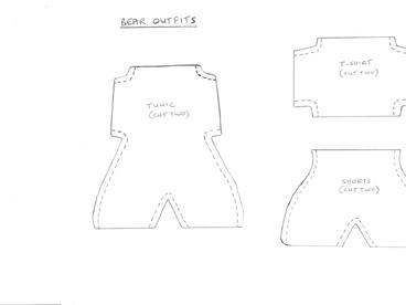 Workshop #5: bear outfit templates