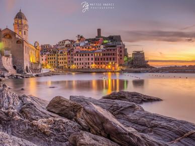Vernazza al tramonto - Matteo Andrei Photograpnhy
