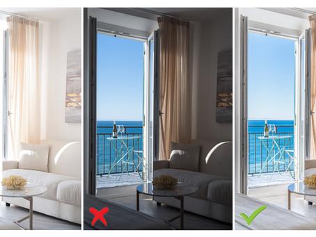 I 6 Errori più comuni nelle fotografie di interni