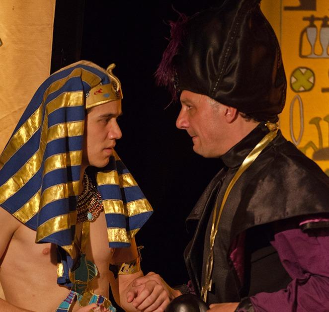 Toutankhamon et le Scarabée d'Or