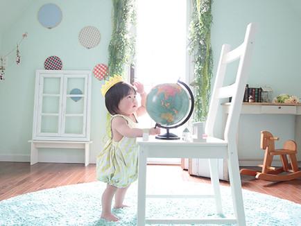Baby撮影|ナチュラルな湘南エリアのハウススタジオ|ベイビーズブレス
