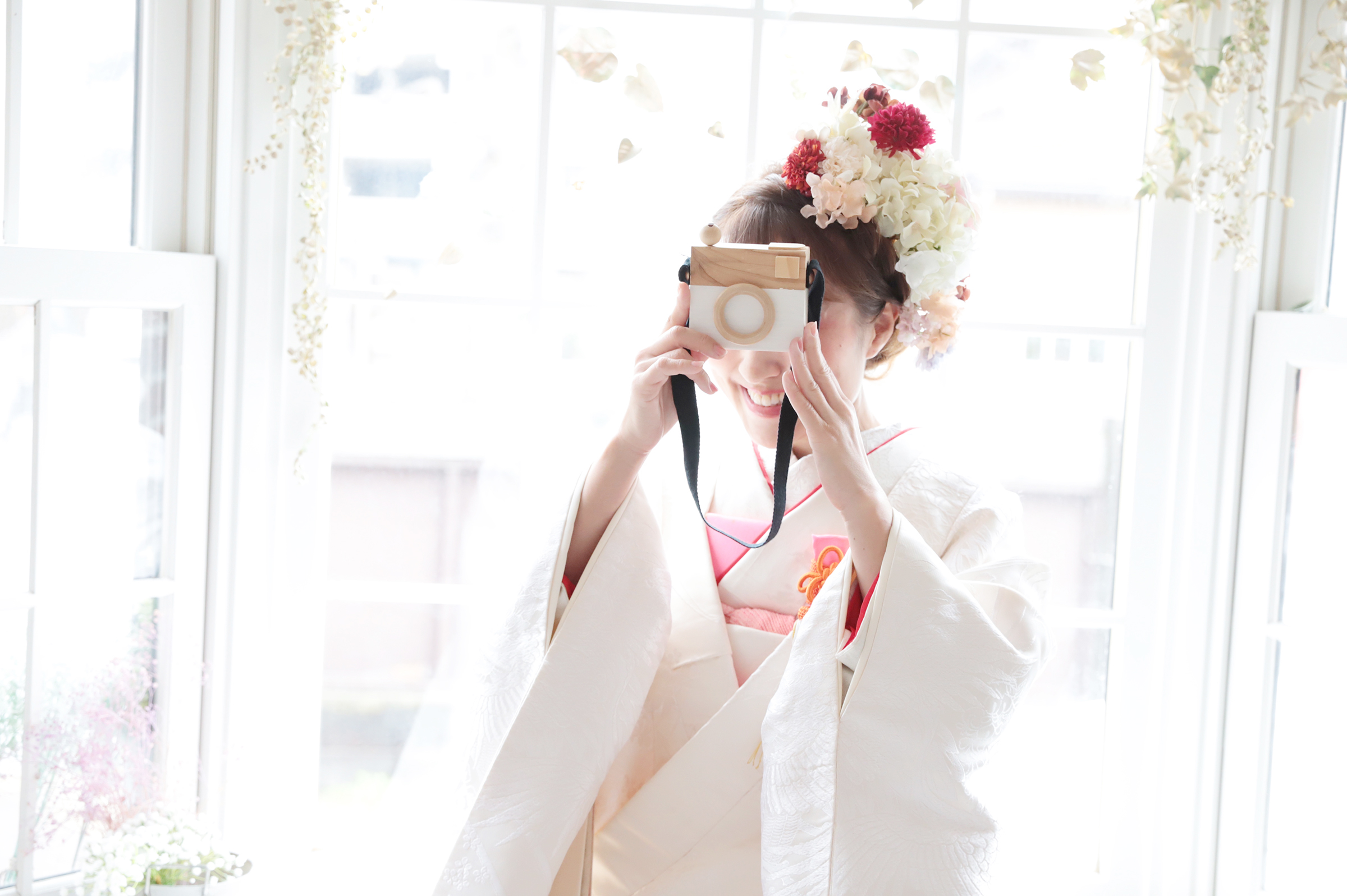 湘南藤沢の和装婚礼撮影