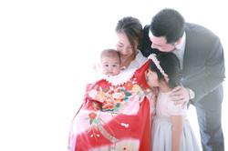 藤沢市のお宮参り撮影 | 新生児撮影