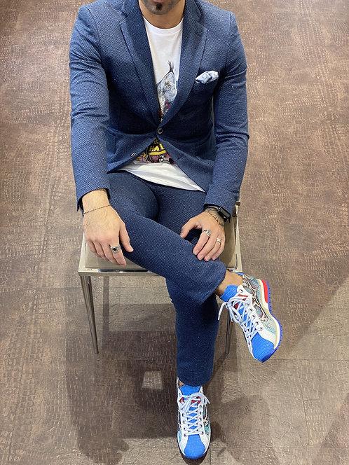 Elgaf Jersey Anzug/Dunkel Blau/Mic